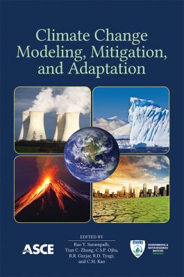 book cover: Climate Change Modeling, Mitigation, and Adaptation