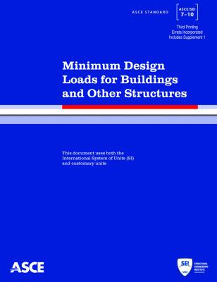 book cover: Minimum Design Loads for Buildings and Other Structures