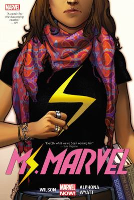 cover art for 9.	Ms. Marvel, Vol. 1: by  G. Willow Wilson