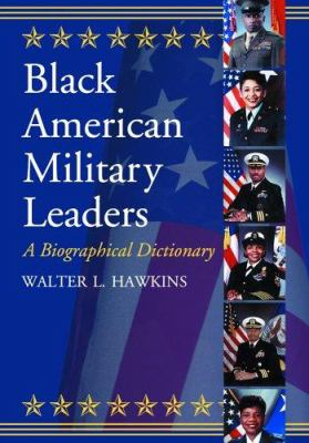 Book cover for Black American military leaders.