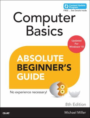 book cover: Computer Basics - Absolute Beginner's Guide