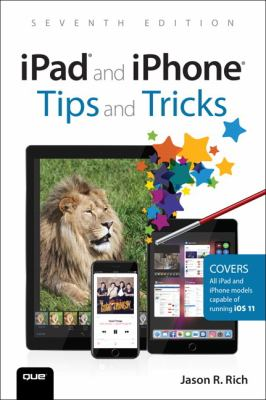 book cover:  ipad and iphone Tips and Tricks