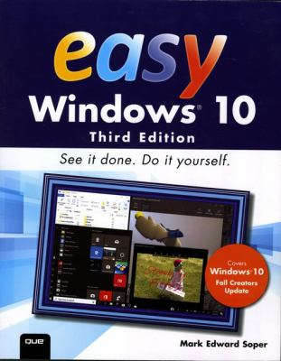 book cover: Easy Windows 10
