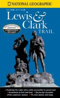 Lewis and Clark trail book cover
