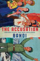"""The accusation"" book cover"