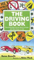 Book cover for The Driving Book by Karen Gravelle