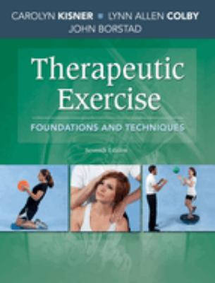 Therapeutic Exercise: Foundations and Techniques cover and link