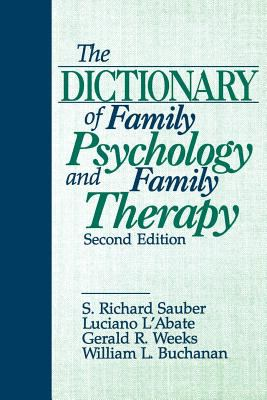 Book jacket for The Dictionary of Family Psychology and Family Therapy