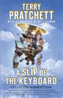 A Slip of the Keyboard book cover