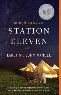 Book cover: Station Eleven by Emily St. John Mandel