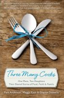 Book cover for Three Many Cooks by Pam Anderson