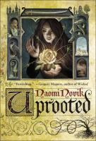 Book cover for Uprooted by Naomi Novik