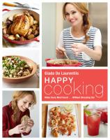 Book cover for Happy Cooking by Giada De Laurentiis