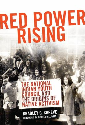 Shreve Red Power Rising cover art