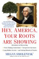 Book cover for Hey American Your Roots Are Showing
