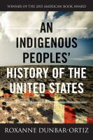 Book cover for An Indigenous Peoples' History of the United States