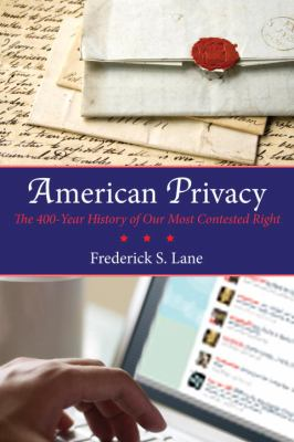Book Cover: American Privacy by Frederick Lane