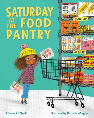Saturday at the food pantry