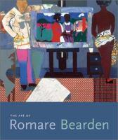 The Art of Romare Bearsen book cover
