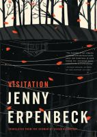 """Book cover for """"Visitation"""""""