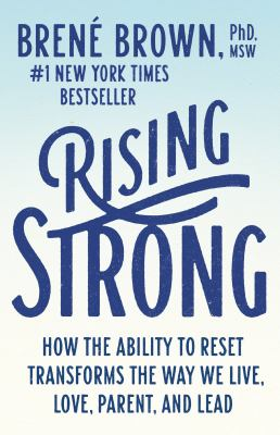 Cover Art for Rising strong by Brené Brown