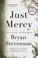Book cover for Just Mercy by Bryan Stevenson
