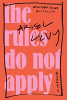 The Rules Do Not Apply book cover