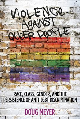 Book cover for Violence against queer people.