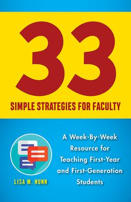 33 Simple Strategies for Faculty
