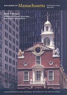 Cover art for the book, Buildings of Massachusetts: Metropolitan Boston