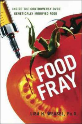 Cover Art for Food Fray by Lisa H. Weasel