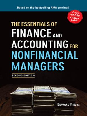 Front cover art for the book The Essentials of Finance and Accounting for Nonfinancial Managers by Edward Fields.