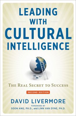 Book jacket for Leading with Cultural Intelligence