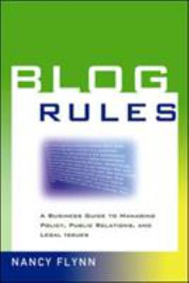 Blog Rules Cover Art