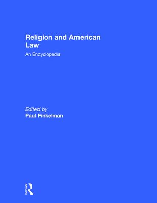 Cover Art for Religion and American Law