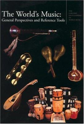 Cover Art of the Garland Encyclopedia of World Music