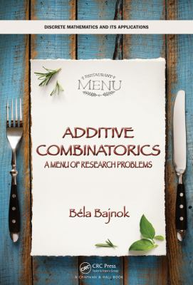 book covers: Additive Combinatorics