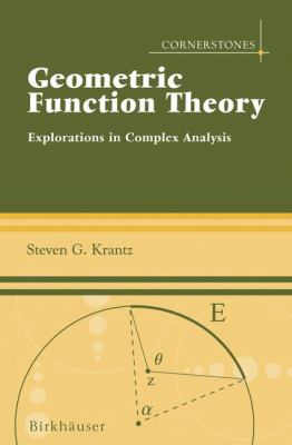 book cover: Geometric Function Theory