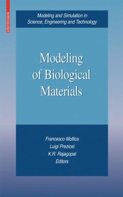book cover: Modeling of Biological Materials