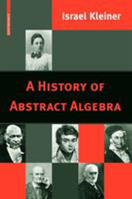 book cover: A History of Abstract Algebra