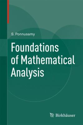 book cover: Foundations of Mathematical Analysis