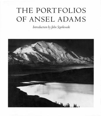 The Portfolios of Ansel Adams Cover Art