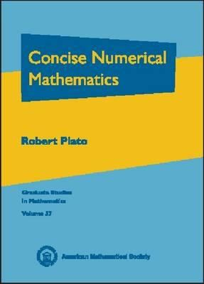 book cover: Concise Numerical Mathematics