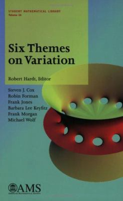 book cover: Six Themes on Variation