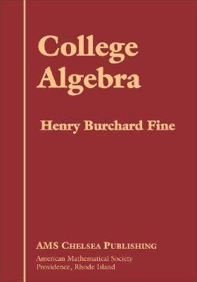 book cover: College Algebra