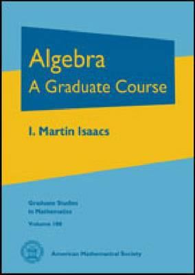 book cover: Algebra: a graduate course