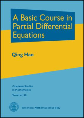 book cover: A Basic Course in Partial Differential Equations