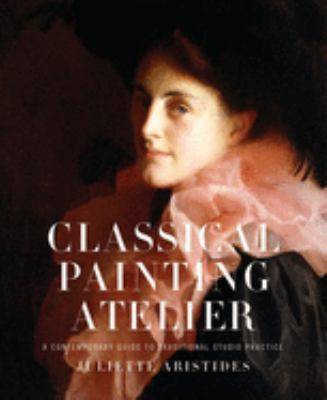 A book cover with a color portrait painting of a woman wearing a hat and pink ruffled collar. The title text is white on top of the image.