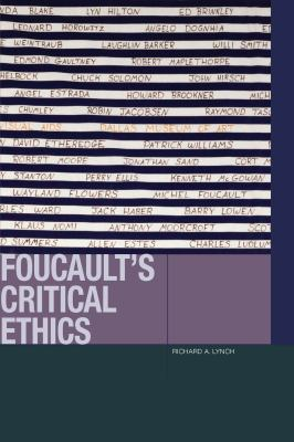 Book Cover : Foucault's Critical Ethics