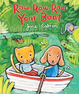 Book cover for Row, Row, Row Your Boat